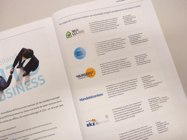 Amstelland INTO business verwelkomt 10 nieuwe Business Clubleden